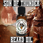 Son Of Thunder Beard Oil