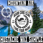 Mountain Air Mustache Wax