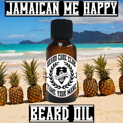 Jamaican Me Happy Beard Oil
