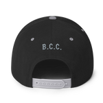 B.C.C. Fighter Logo Snapback Hat