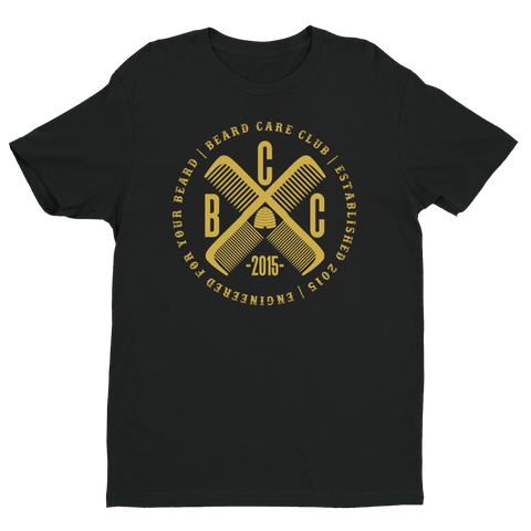 B.C.C. Black & Gold Cross Comb T-Shirt