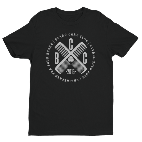 This B.C.C. Black & Silver Cross Comb T-Shirt