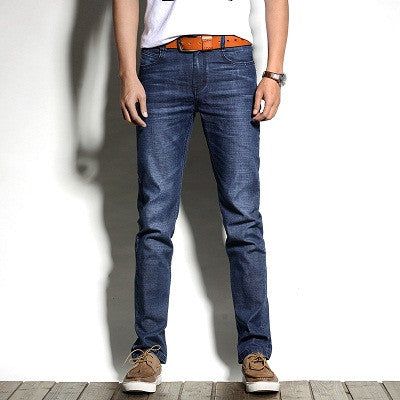 Regular Fit Stretch Jeans - Blue / 28 - men - HQBP