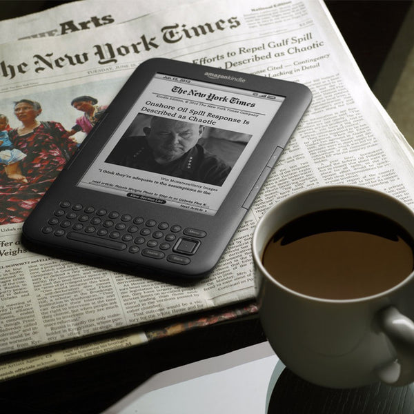 Kindle 3 E-Book Reader - - accessories - HQBP