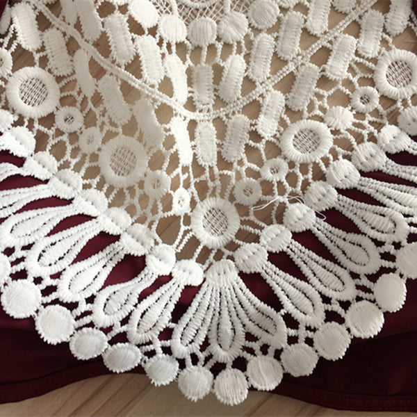 Halter Split Lace
