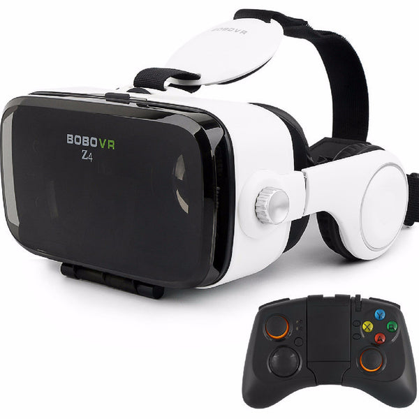 Virtual Reality Glasses 360 Viewing Movie Gaming - Russian Federation / White - accessories - HQBP