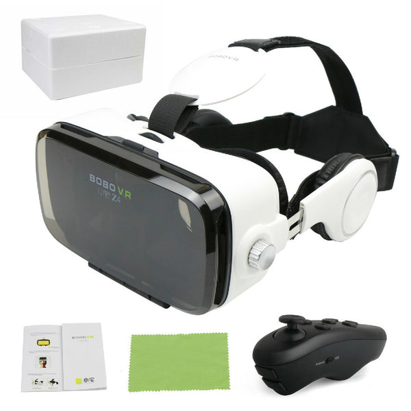 Virtual Reality Glasses 360 Viewing Movie Gaming - Russian Federation / Black - accessories - HQBP
