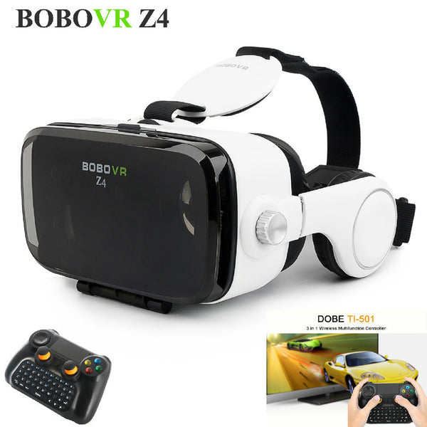 Virtual Reality Glasses 360 Viewing Movie Gaming - Russian Federation / Silver - accessories - HQBP