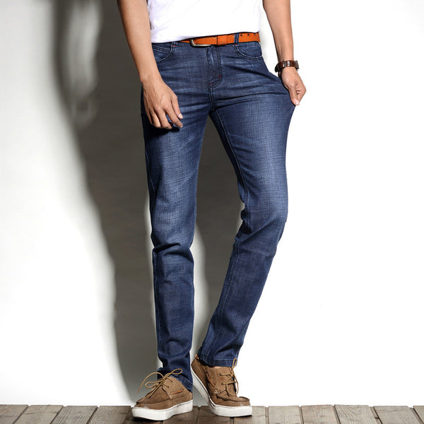 Regular Fit Stretch Jeans - - men - HQBP