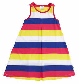 Hootkid Stripey Stripe Dress - Multi Stripe