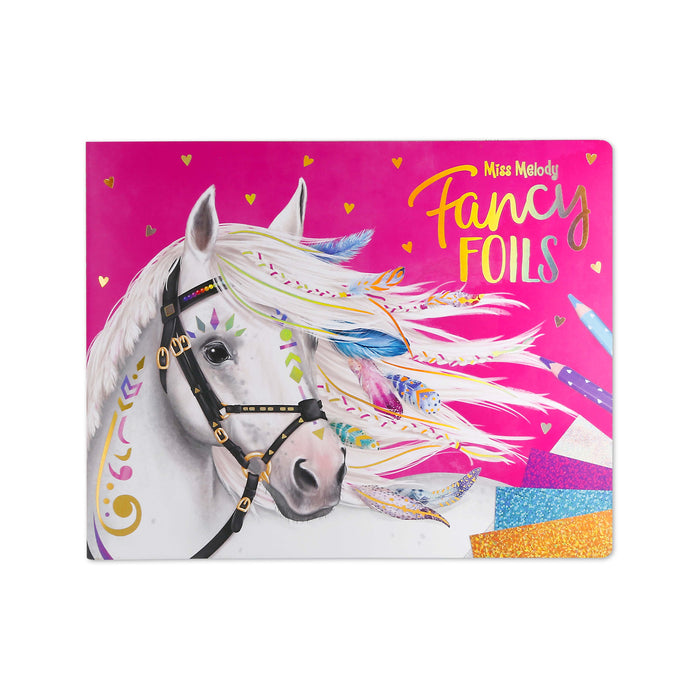 Miss Melody Fancy Foils Activity Book