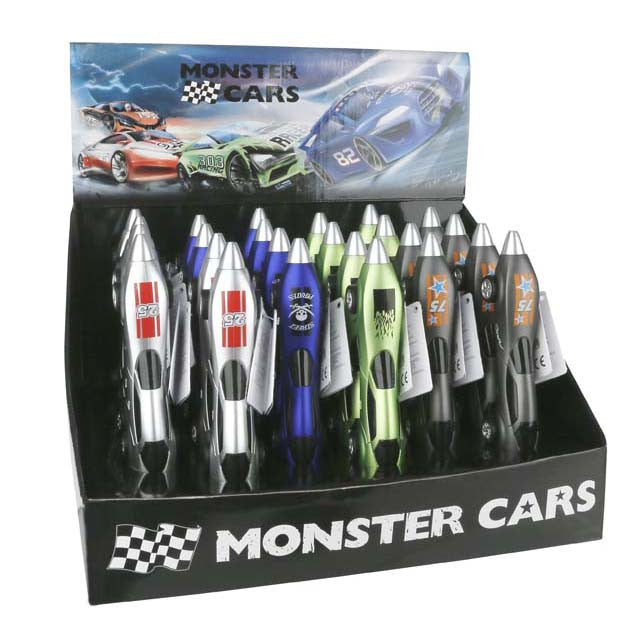 Monster Car Pen & Eraser