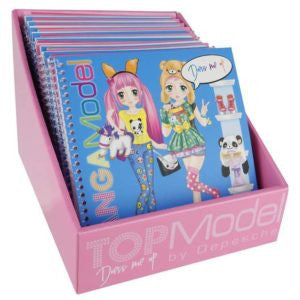 Book - Mang Dress Me Up Sticker Book