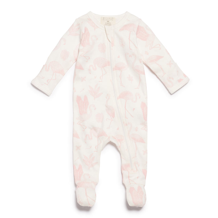 Wilson & Frenchy Flamingo Zipsuit With Feet
