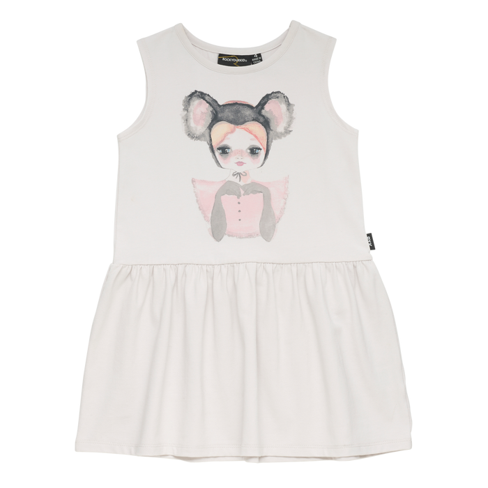 Rock Your Kid Koala Belle - Singlet Dress