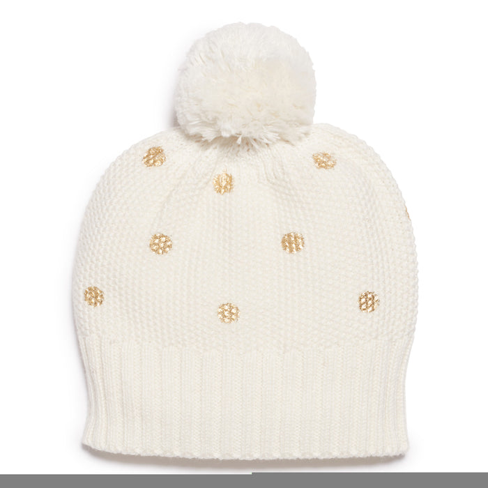 Wilson & Frenchy Little Polka Dot Knitted Hat