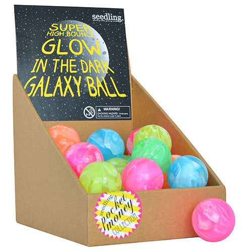 Seedling GID Galaxy Bounce Ball