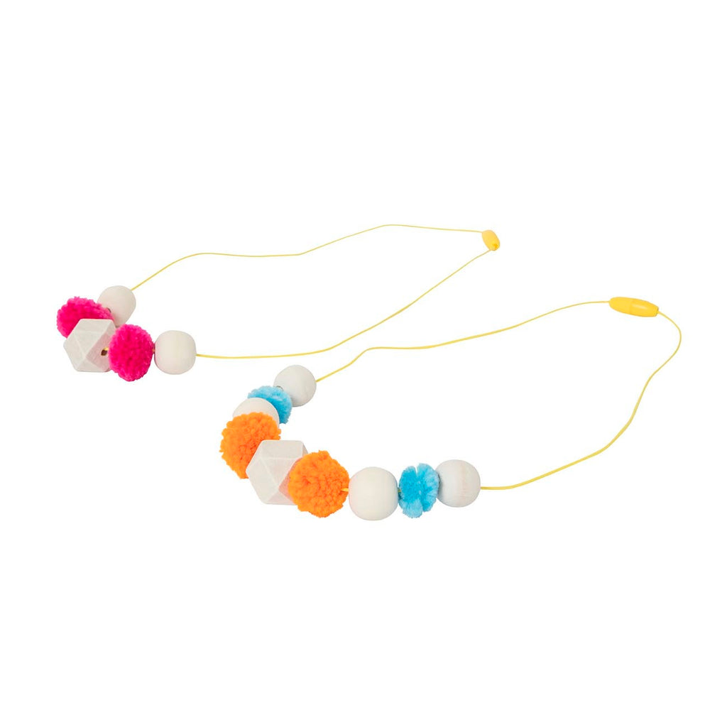 Jewellery Design Kit - Pom Poms and Beads