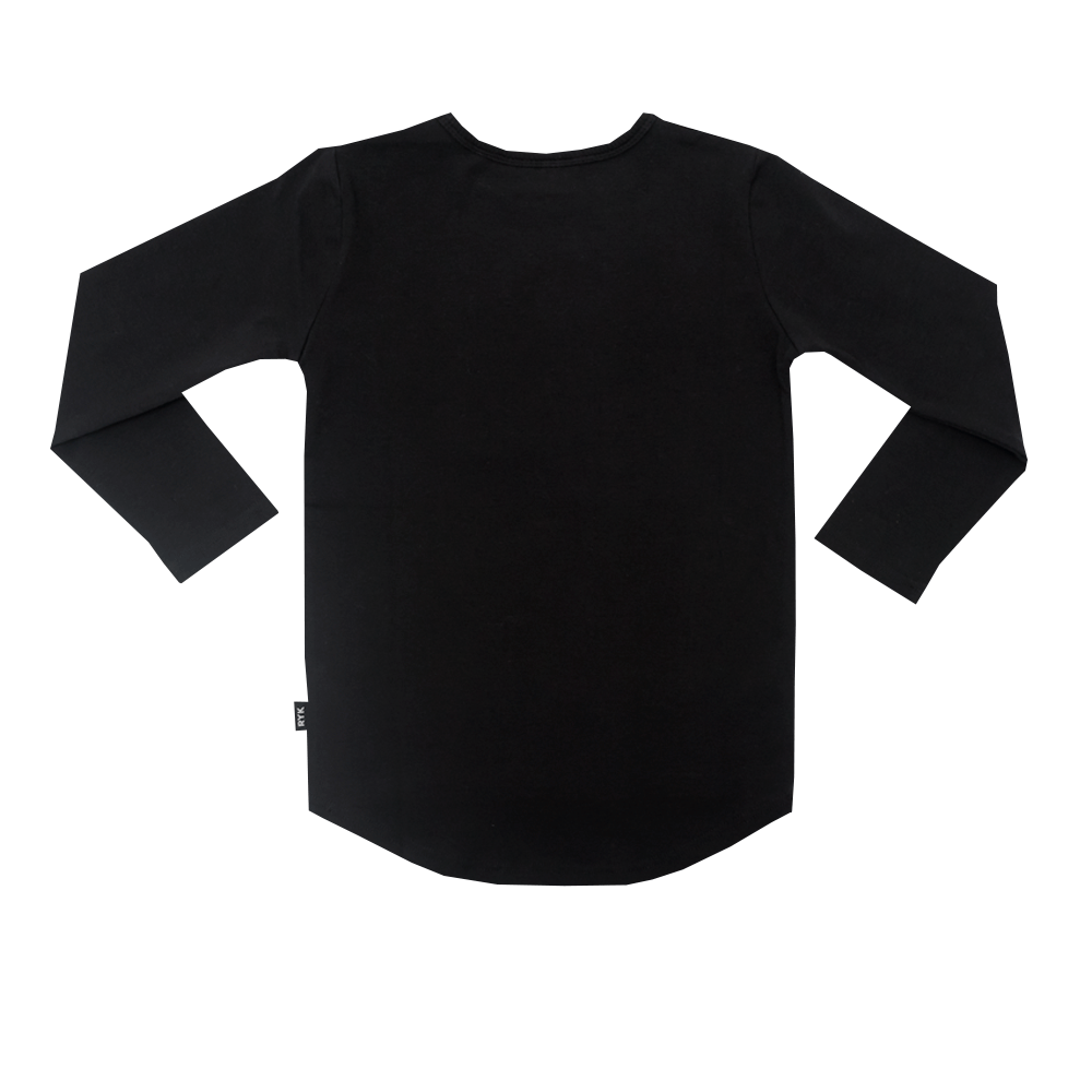 RYB Back Lit Cobra LS T-Shirt (Black)