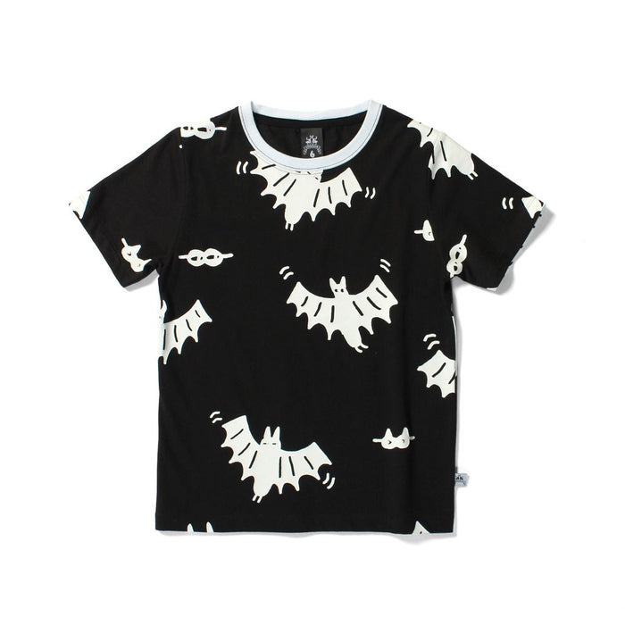 Littlehorn Bats & Masks Tee (Black)