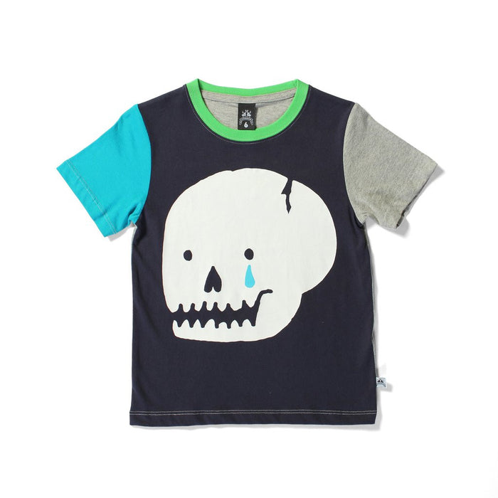 Littlehorn Cracked Skull Tee (Multi)