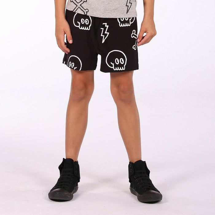 Littlehorn Cross Bones Short (Black)