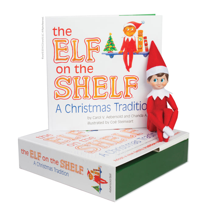 Elf on the Shelf - Boy (Fair)