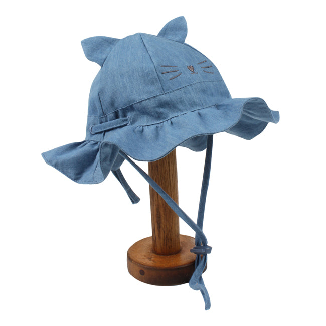 Fox & Finch Birdie Chambray Sunhat