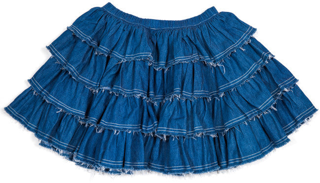 Tutu Skirt - Faded Indigo