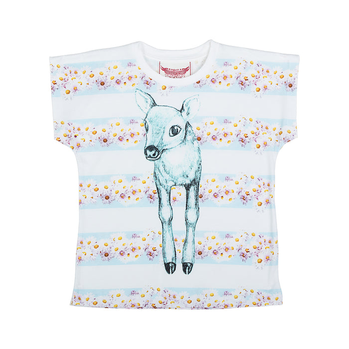 Paper Wings Classic T-shirt - Daisy Deer