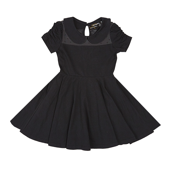 Rock Your Kid Gathered Sleeve Waisted Dress