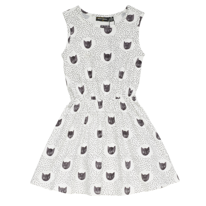 Rock Your Kid Meow Or Never - Sleeveless Dress
