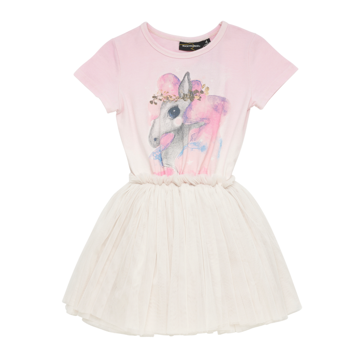 Rock Your Kid Rainbow Brumby - SS Circus Dress