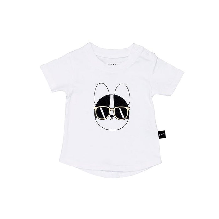 Huxbaby French Shades T-Shirt (White)