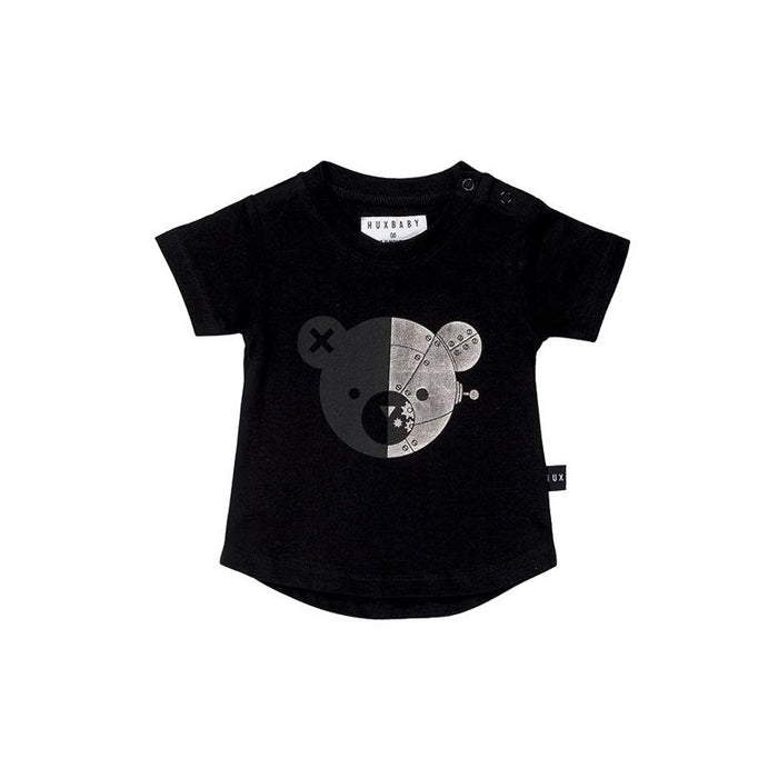 Huxbaby Robo Bear T-Shirt (Black)