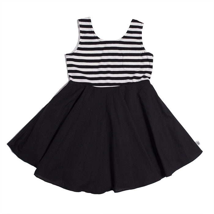 Hootkid Spinning Dress (Black)