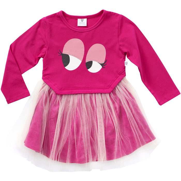 Hootkid Eyes For You Tutu (Hot Pink)