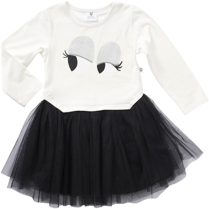 Hootkid Eyes For You Tutu (Warm White/Black)