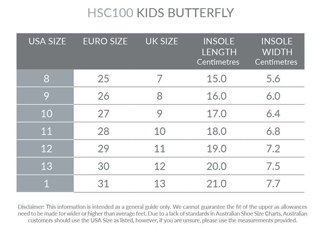 Holster Kids Butterfly (Clear)