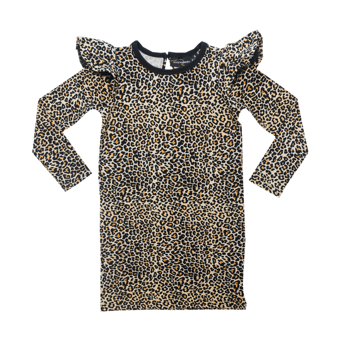 RYK Leopard LS Rebel Rebel Dress