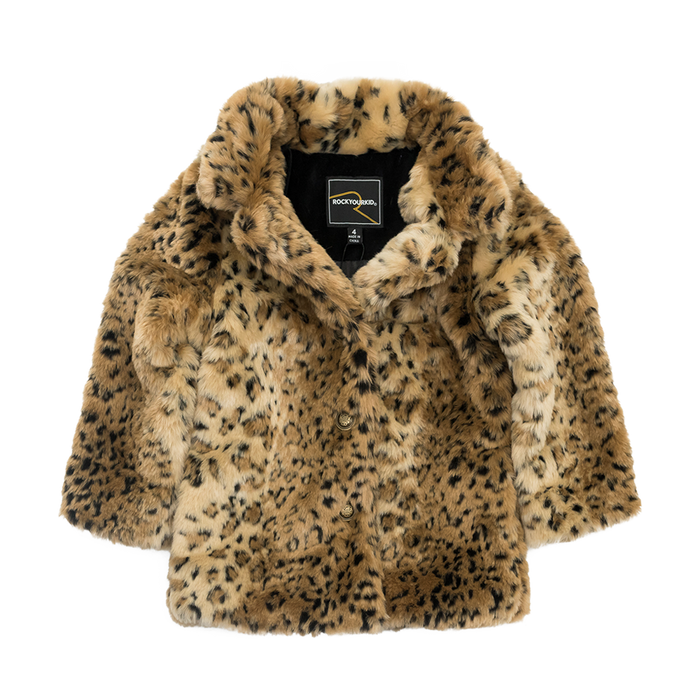 RYK Leopard Fur Jacket