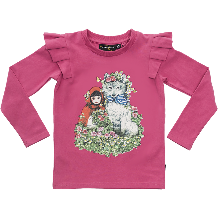 RYB Little Red LS T-Shirt (Pink)