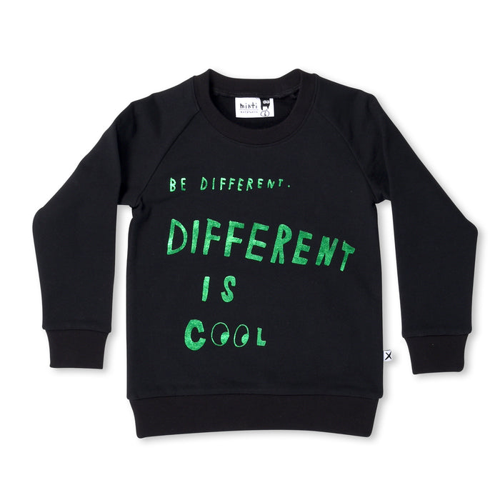 Minti Be Different Furry Crew (Black)