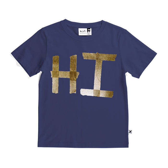Minti Hi Tape Tee (Midnight)