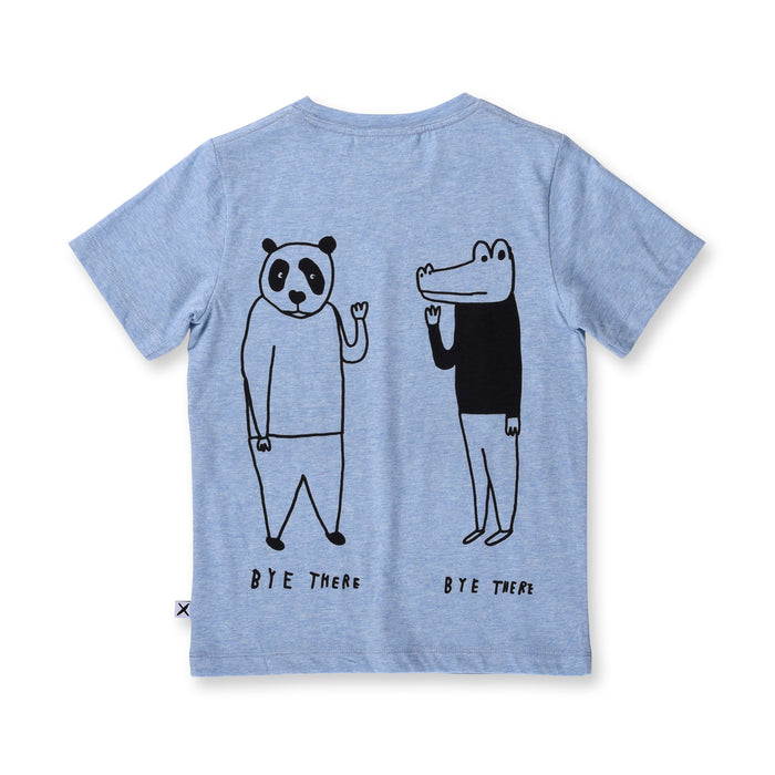 Minti Hey There Bye There Tee (Blue Marle)