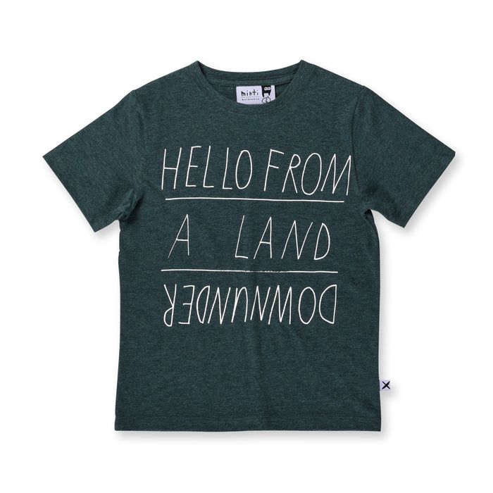 Minti Land Downunder Tee (Forest Marle)