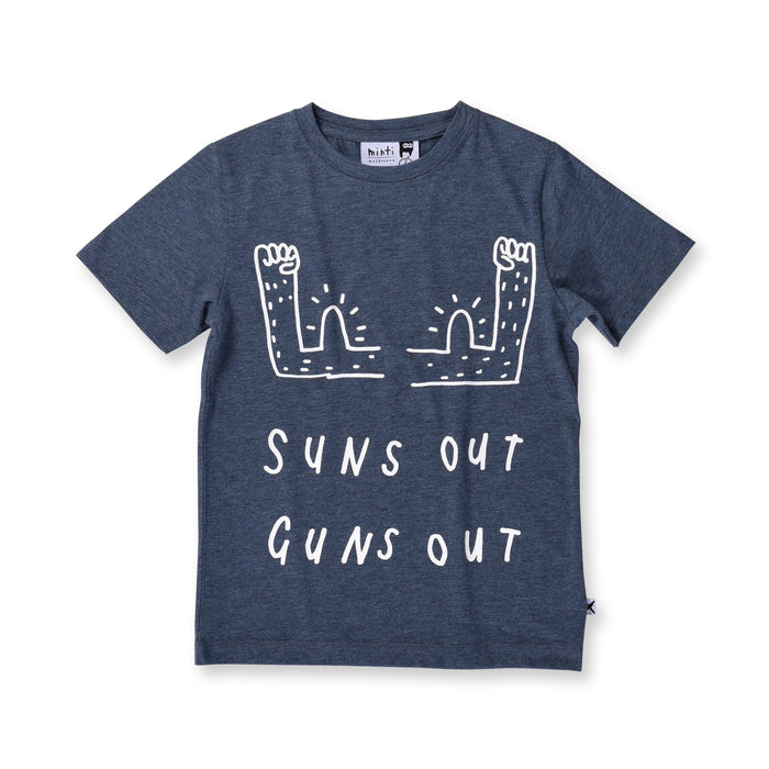 Minti Suns Out Tee (Midnight Marle)