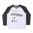 Minti Be Different Tee (White/Dark Grey)