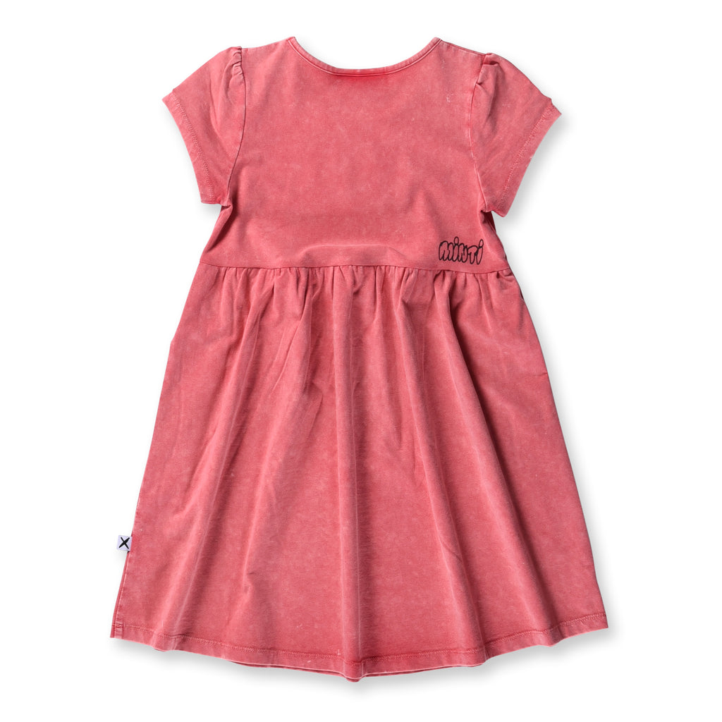 Minti Blasted Dress (Watermelon Wash)