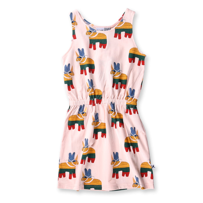 Minti Unicorn Pinata Tank Dress (Ballet)